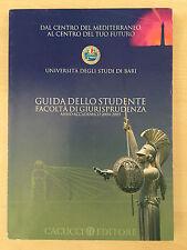 Guida dello studente - Facoltà di Giurisprudenza - Anno accademico 2004-2005