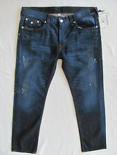 True Religion Skinny Flaps Jeans-Distressing/Oil -Camshaft - Size 40- NWT- $282