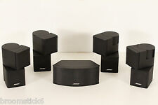 5x Bose Premium Jewel Cube Speakers Incl Center (Black) 535 Series II V35