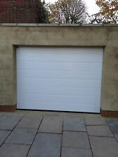 Electric 20mm Insulated Sectional Ribbed Garage Door INSTALLED Full Installation