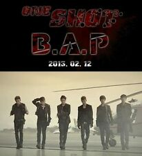 "B.A.P. BAP ""One Shot"" 2nd Mini Album: CD+ Photo card+ Mini Photo, New - Rare"