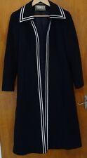 Stunning Vintage Alexon Alannah Tandy Coat Navy Blue 12/14