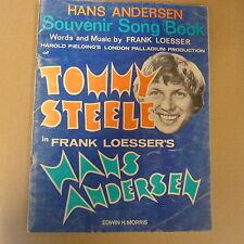 souvenir songbook HANS ANDERSON , Frank Loesser