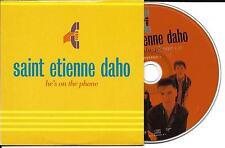 CD CARTONNE CARDSLEEVE PICTURE  SAINT ETIENNE DAHO 2T HE'S ON THE PHONE DE 1995