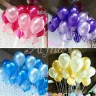 100pcs 10 inch colorful Pearl Thickening Wedding Party Birthday Latex Balloon