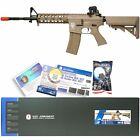G&G CM TAN Airsoft RIS Raider Long M4A1 M16 AEG Auto Metal Electric Rifle Gun