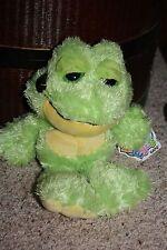 New GANZ Pop Eyes POP EYES FROG Green H6772 NWT Plush Beanbag Toy Stuffed #X2