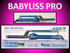 "NEW BABYLISS PRO NANO TITANIUM 450° TURBO BOOST 3/4"" MARCEL SPRING CURLING IRON"