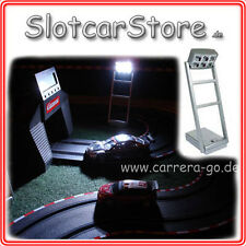 Tipp-Kick 4x Flutlicht Set Carrera GO Digital 1:32 1:24 1:43 Slotcar Floodlights