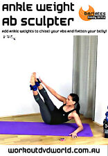 Abs Toning EXERCISE DVD - Barlates Body Blitz ANKLE WEIGHT AB SCULPTER!