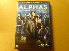 4-DISC DVD BOX / ALPHAS - SEIZOEN 1