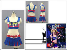 Lollipop Chainsaw Cheerleader Juliet Starling Cosplay Costume UK