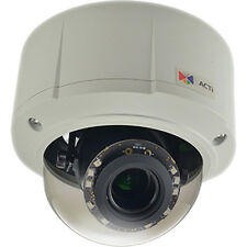ACTI - E816 10MP OUTDOOR DAY/NIGHT VANDAL RESISTANT POE DOME CAMERA