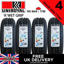 4x NEW 185 60 14 UNIROYAL RAINEXPERT 3 82H 185/60R14 (4 TYRES) HIGH WET GRIP!