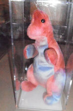 RARE Authenticated Ty REX - Gorgeous Coloring - Beanie Baby - 1st genTush