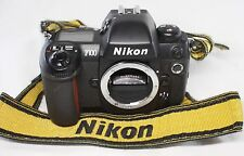 READ! Nikon F100 35mm SLR Film Camera Body Only