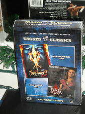 WWE Tagged Classics - Judgement Day 04 / Bad Blood 04 (DVD) 2-Disc Set! NEW!