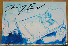 TRACEY EMIN FURNITURE HAND SIGNED TURNER EXHIBITION CARD UACC REGISTERED DEALERS
