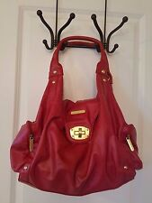Timi & Leslie Diaper Bag Annette Rouge Red with Accessories