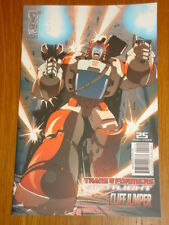 TRANSFORMERS SPOTLIGHT CLIFFJUMPER RI COVER 2009 IDW ROBBY MUSSO