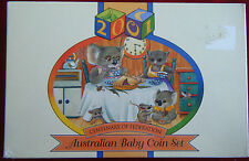 2001 Baby Set, Australian Proof Coins, Centenary of Federation, RAM