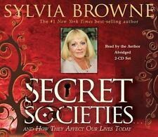 Secret Societies And How They Affect Our Lives Today by Sylvia Browne CD NEW