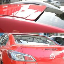 PAINTED ALL COLOR FOR MAZDA 3 2010-2013 AXELA 2ND 4D SEDAN ROOF SPOILER WING vip