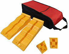 LEVELLING RAMPS + CHOCKS and CARRY BAG MOTORHOME LEVEL UP 3 STEP caravan TS570