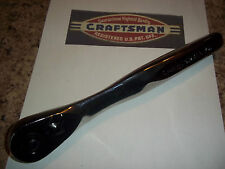 "New Craftsman Thin Profile 1/2"" Dr 75-Tooth Full Polish Quick Release - Ratchet"