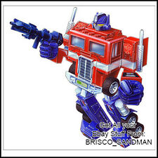 Fridge Fun Refrigerator Magnet TRANSFORMERS: OPTIMUS PRIME G1 Box Art 1984