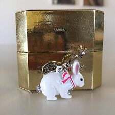JUICY COUTURE Limited 2012 Edition BUNNY RABBIT CHARM. Brand new in tagged box!!