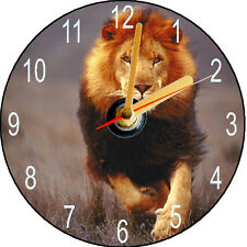 CD CLOCK - LION - CAN BE PERSONALISED