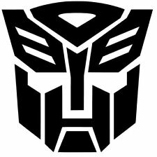 2X(PAIR) Autobot Transformers Car Truck Window Vinyl Decal Sticker
