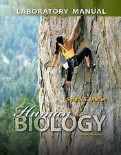Human Biology, by Mader, 13th Edition, Lab Manual
