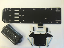 1300 Stock Car Racing Saloon Vented Chassis BLACK GRP 2.4mm Kamtec V12 £15.99