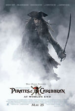 PIRATES OF THE CARIBBEAN AT WORLDS END MOVIE POSTER 2 Sided ORIGINAL 27x40
