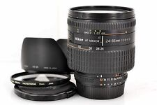 Excellent++ Nikon AF 24-85mm f/2.8-4D Macro FX Lens with Hood 72mm filter