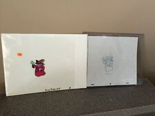 He-Man Masters of the Universe ORKO production cell w/ orginal Drawling MOTU