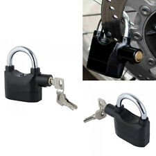 Siren Alarm Lock Anti-Theft Security System Door Motor Bike Bicycle Padlock New