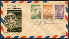 1959 Philippines 10th World Jamboree First Day Cover I