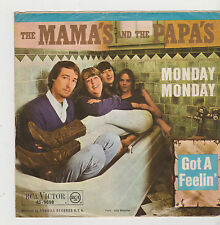 """7"""" THE MAMA`S AND THE PAPA`S Monday Monday RCA Victor 45-9698 Got A Feelin`"""