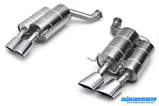 Eisenmann exhaust rear section for BMW E60 M5, 120x77mm tailpipes
