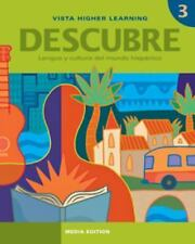 Descubre, Nivel 3,  Lengua Y Cultura Del Mundo Hispanico, , Good Books