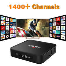 2/8G T95M TV Box & One Year Arabic US EU IPTV Live Sports Movies 1400 Channels