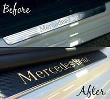 Mercedes A Class / AMG Carbon Vinyl Kick Strip Covers (W176) A180 A200 A250 A45