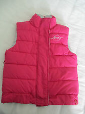 Girls Levis Red Tab 4 Pink/Silver Padded Gilet/Bodywarmer