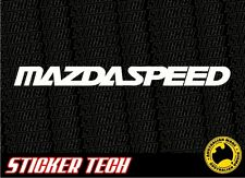 MAZDA SPEED SPORT STICKER DECAL SUITS RX7 RX8 323 626 3 RX3 RX2 13B 12A MX5