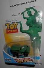 HOT WHEELS - Disney Pixar 2012 - Toy Story - BUCKET O' SPEED - ARMY- Die-Cast