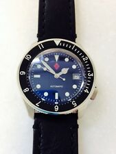 Seiko SKX007 Custom-Mariner Superluminova.Custom CT coin bezel.Domed Sapphire