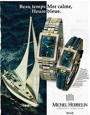Publicité Advertising 1999 Les Montres Newport Michel Herbelin